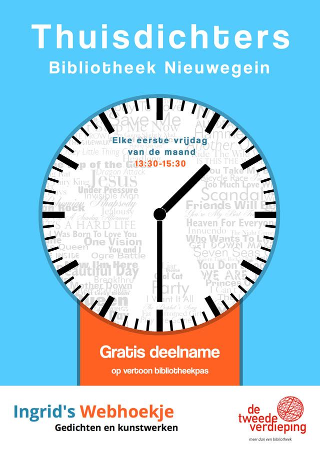 poster thuisdichters Nieuwegein